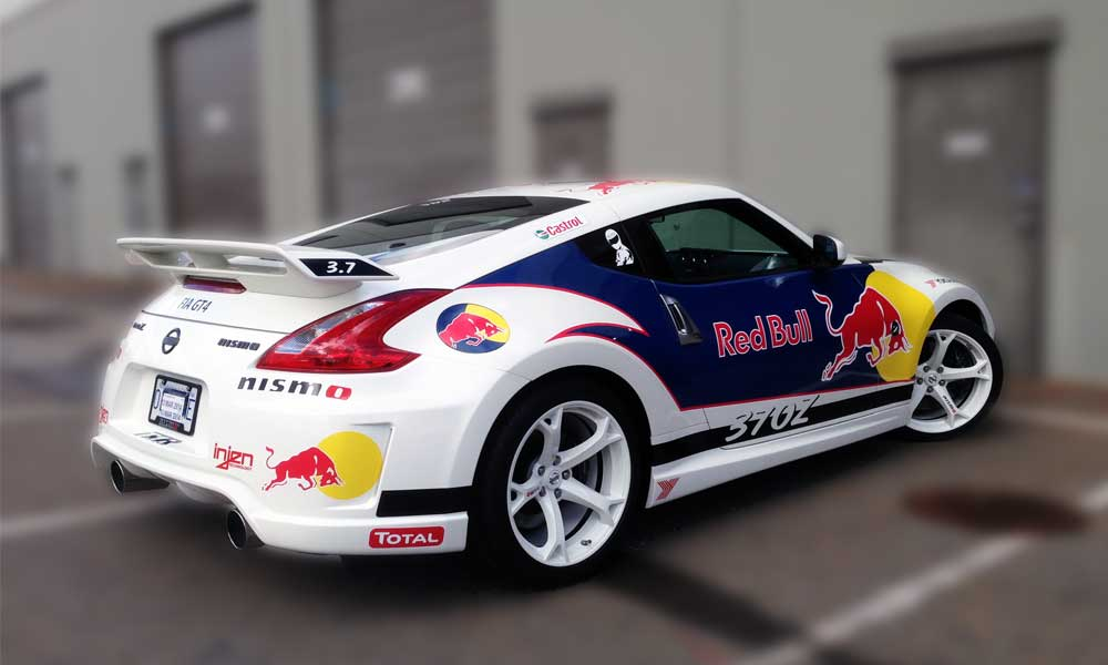 3M Red Bull Nismo Wrap