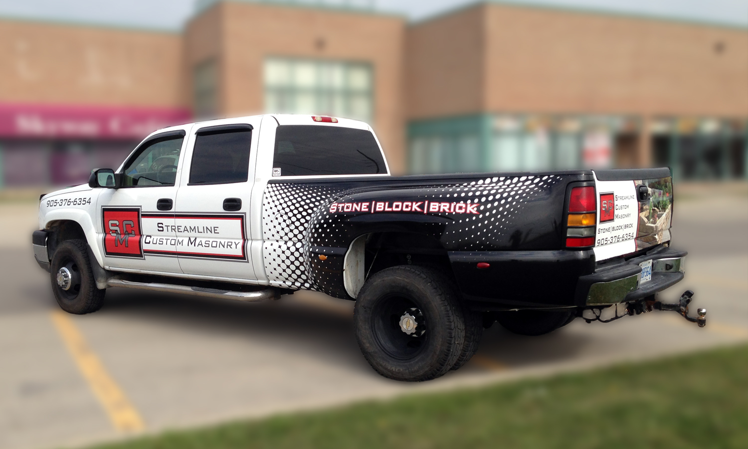 Fleet Graphics And Commercial Vehicle Wraps Mad Graphics - Truck bed decals customat superb graphics we specialize in custom decalsgraphics and